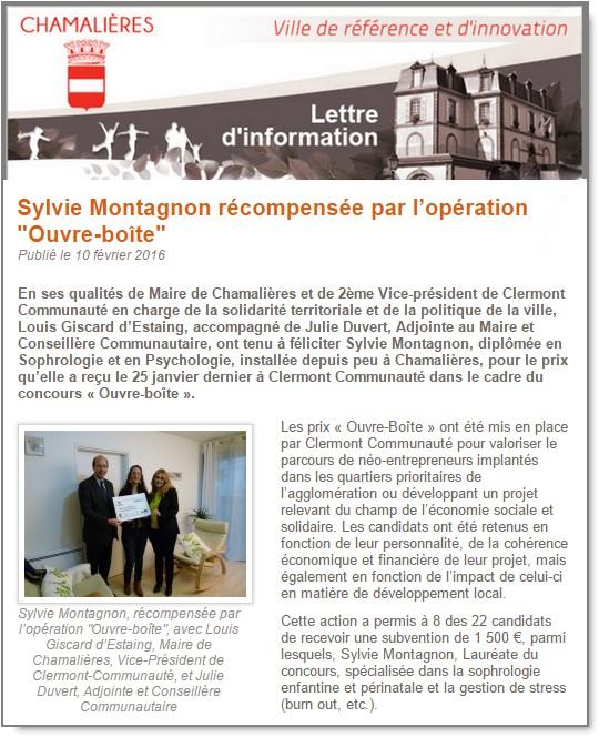 article chamalières pr net1